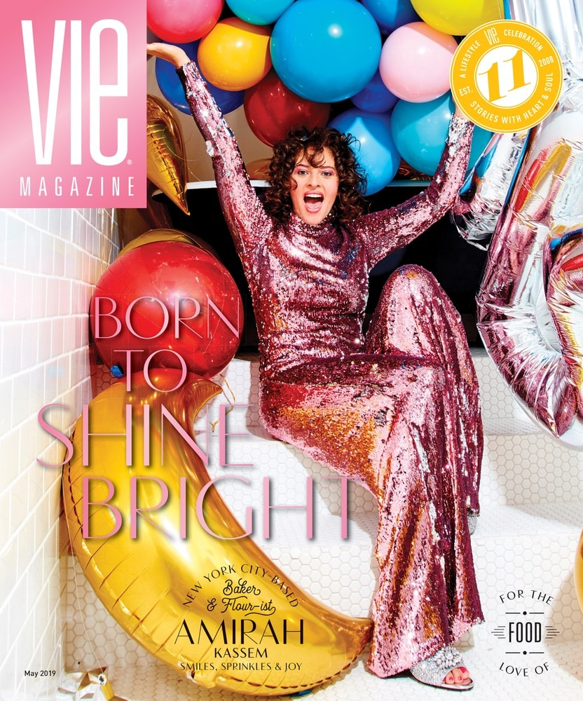 VIE Magazine May 2019 Culinary Issue, Amirah Kassem, Flour Shop