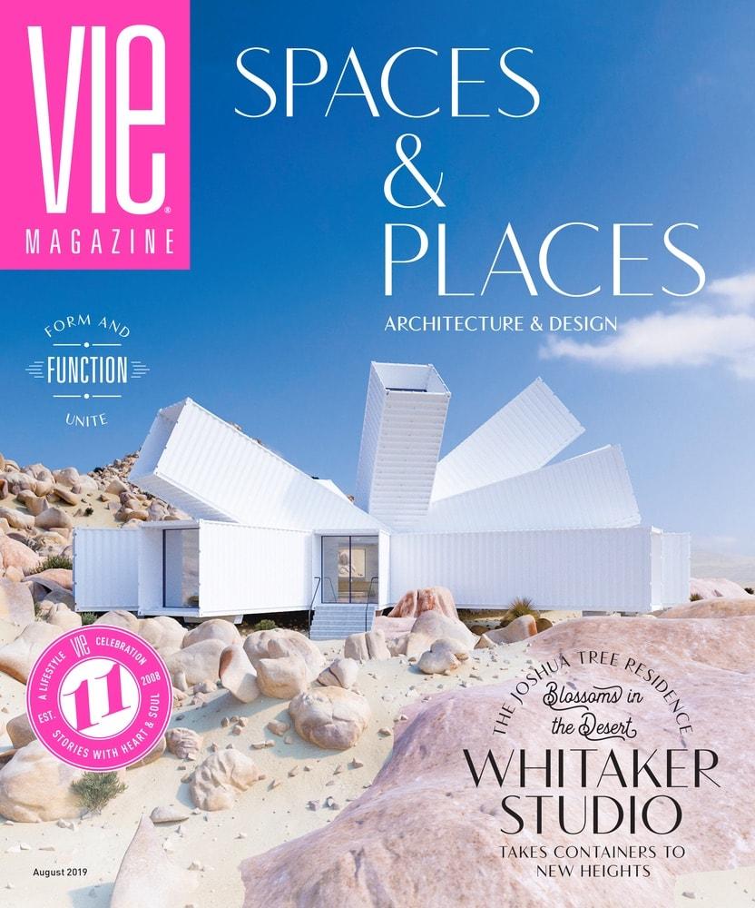 VIE Magazine August 2019 Architecture & Design Issue, Whitaker Studio