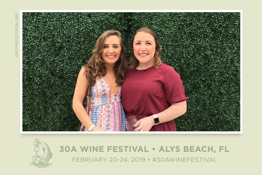 VIE Magazine, 30A Wine Festival, Alys Beach Florida, Abigail Ryan, Olivia Pierce