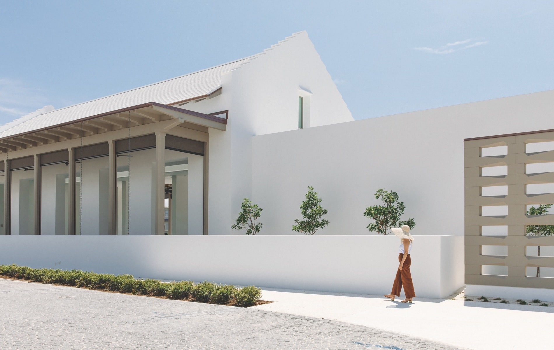 ZUMA Wellness Center, Alys Beach Florida, Nequette Architecture & Design