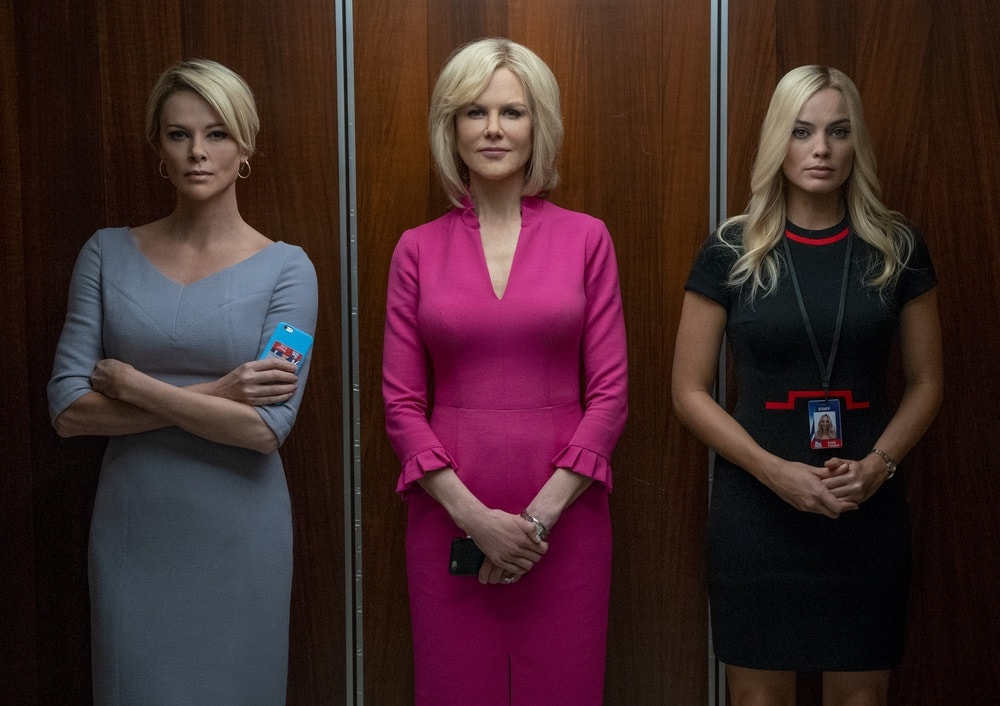 Bombshell, Charlize Theron, Nicole Kidman, Margot Robbie, 92nd Oscars, The Oscars