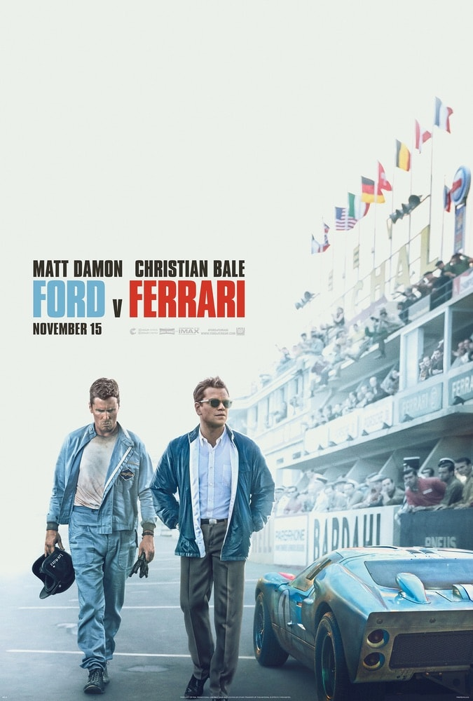 Ford v Ferrari, Matt Damon, Christian Bale, Twentieth Century Fox Film Corporation, 92nd Oscars, The Oscars