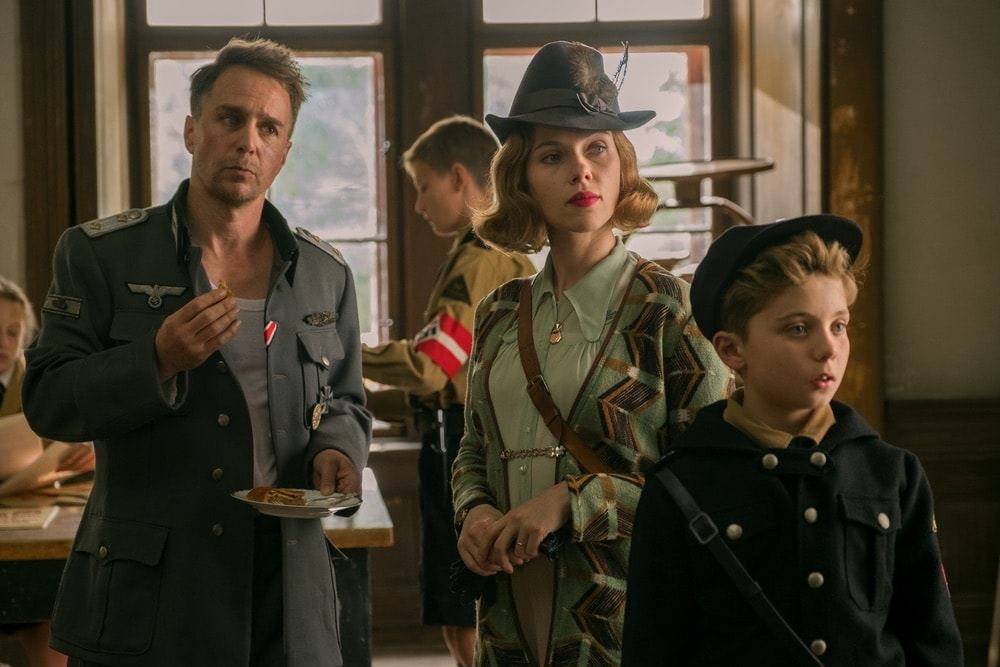 Jojo Rabbit, Twentieth Century Fox Film Corporation, Mayes C. Rubeo, Sam Rockwell, Scarlett Johansson, Roman Griffin Davis, 92nd Oscars, The Oscars