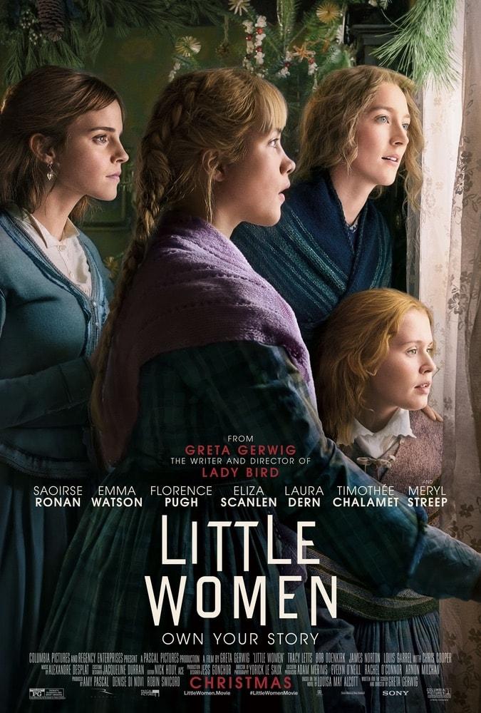 Little Women, Colombia Pictures, Saoirse Ronan, Emma Watson, Florence Pugh, Eliza Scanlen, Laura Dern, Timothée Chalamet, Meryl Streep, 92nd Oscars, The Oscars