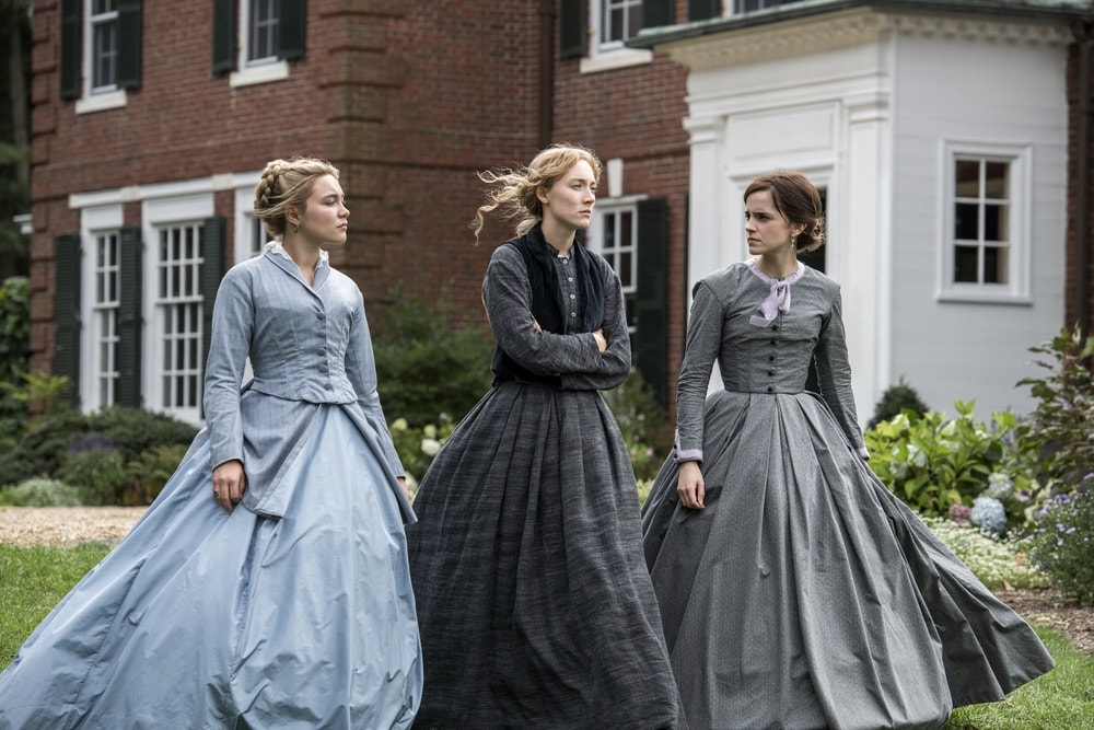 Little Women, Colombia Pictures, Jacqueline Durran, Saoirse Ronan, Emma Watson, Florence Pugh, 92nd Oscars, The Oscars