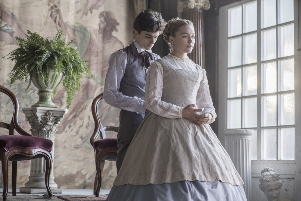 Little Women, Colombia Pictures, Florence Pugh, Timothée Chalamet, 92nd Oscars, The Oscars