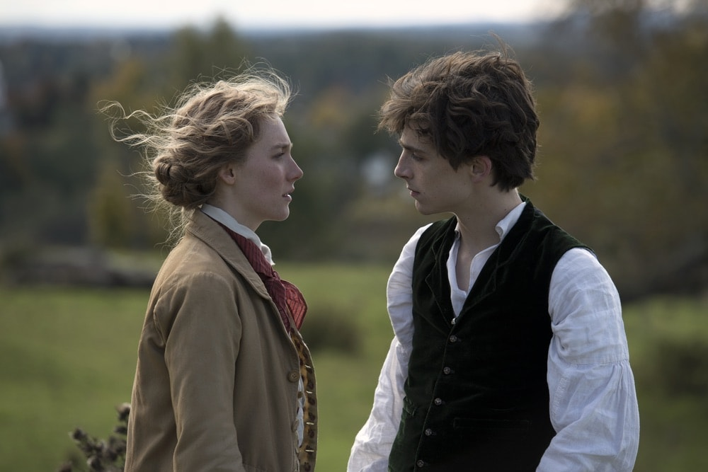 Little Women, Colombia Pictures, Saoirse Ronan, Timothée Chalamet, 92nd Oscars, The Oscars