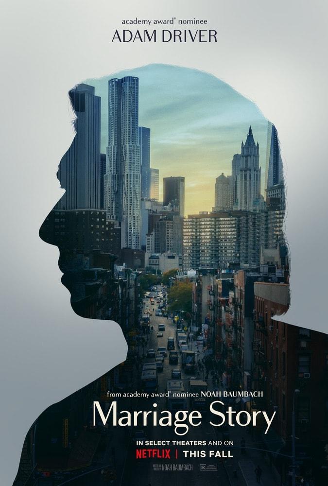 Marriage Story, Netflix, Scarlett Johansson, Adam Driver, 92nd Oscars, The Oscars