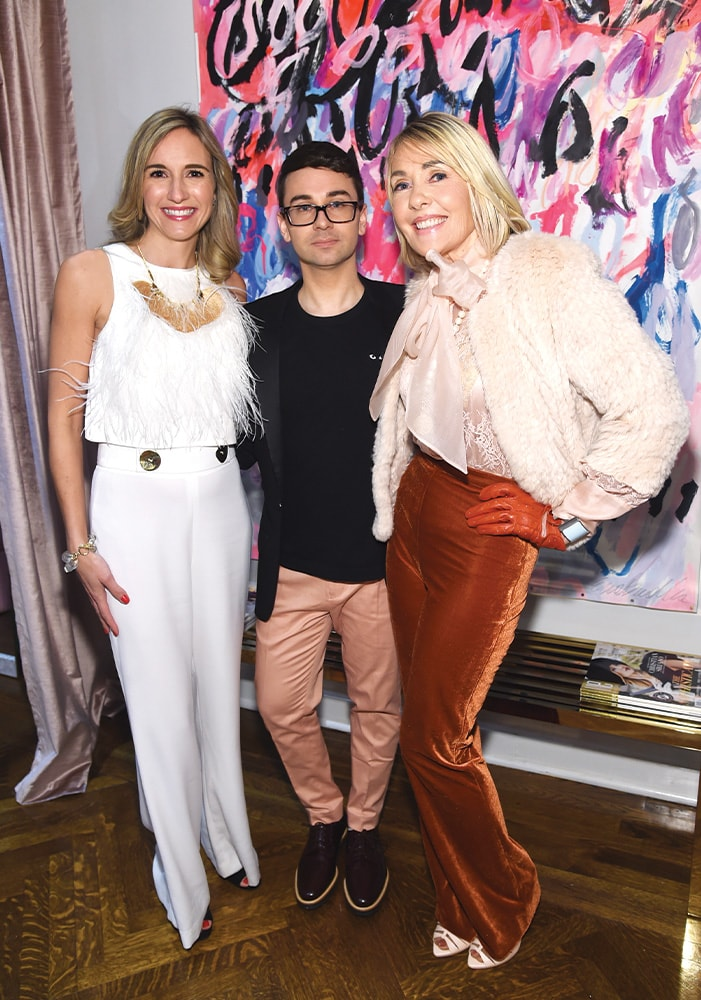 Tracey Thomas, Christian Siriano, Lisa Burwell, The Curated NYC