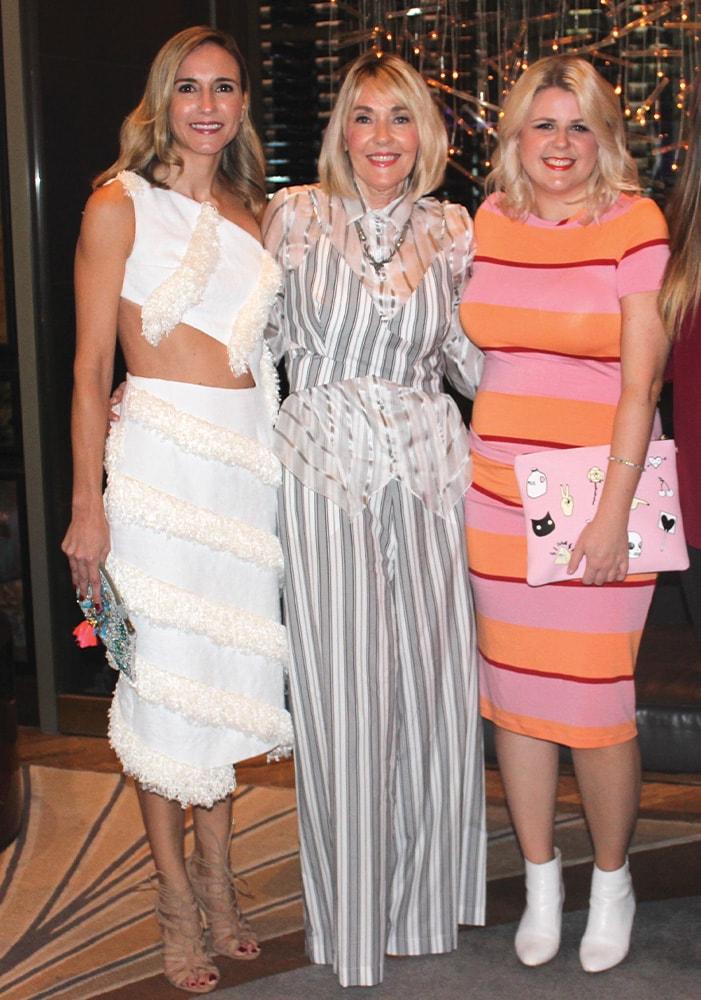 Tracey Thomas, Lisa Burwell, Jordan Staggs, NYFW, New York Fashion Week