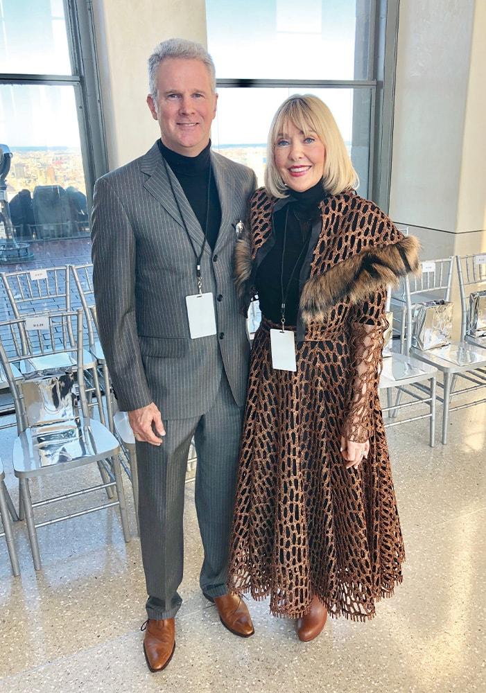 Lisa Burwell, Gerald Burwell, Christian Siriano, NYFW, New York Fashion Week