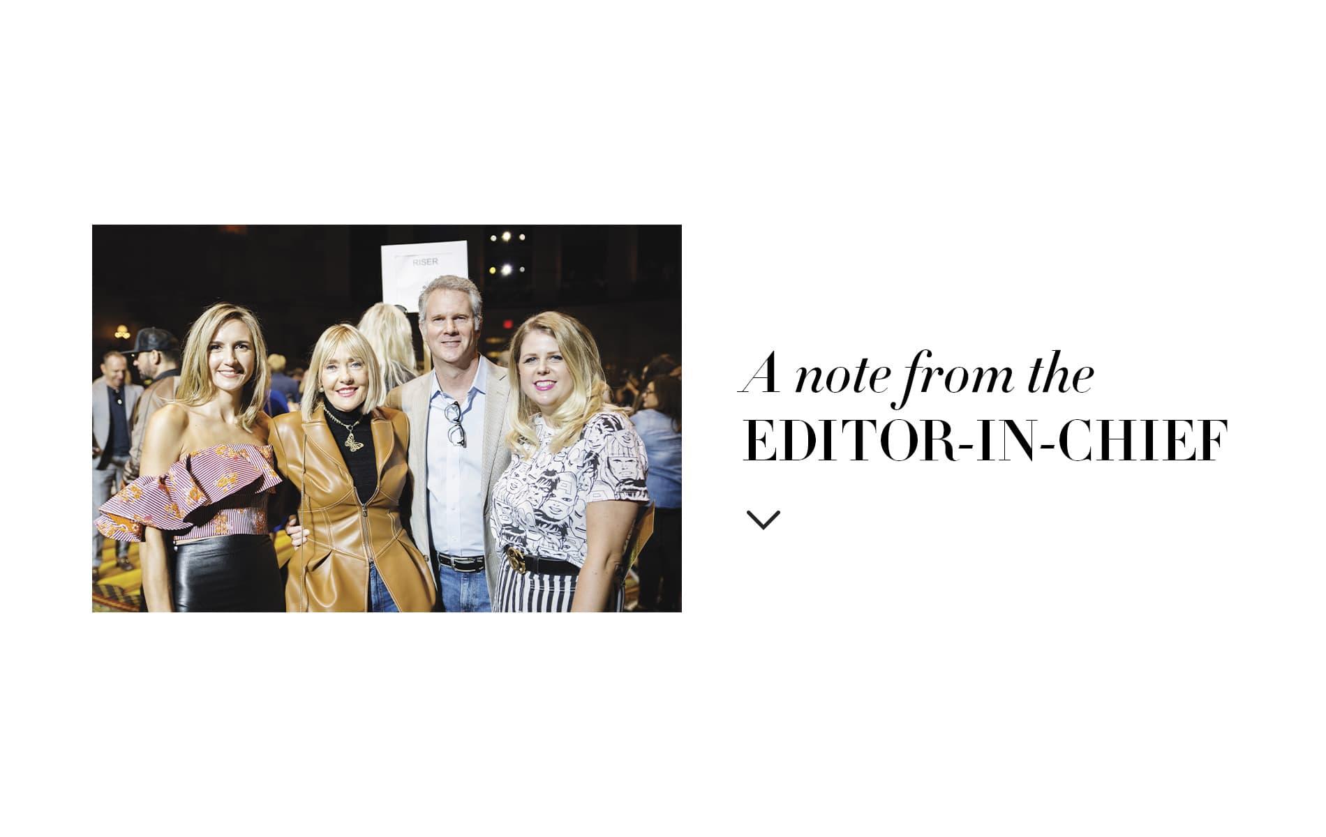 Tracey Thomas, Lisa Burwell, Gerald Burwell, Jordan Staggs, NYFW, New York Fashion Week, Christian Siriano