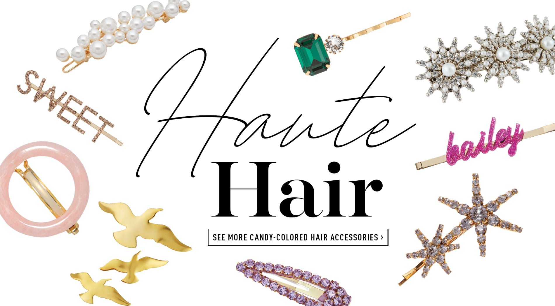 Haute Hair Accessories Trend