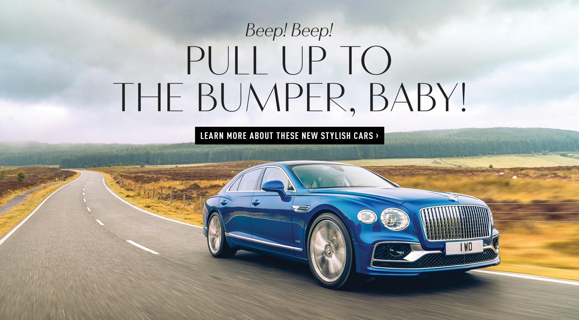 VIE magazine, Stylish Cars, 2020 McLaren GT, 2020 Bentley Flying Spur