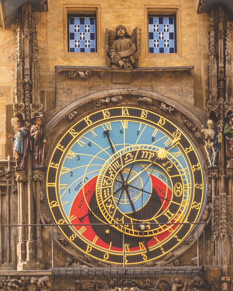 The Prague Astronomical Clock, or Prague Orloj, was first installed in 1410 at the Old Town Hall. It is the third-oldest astronomical clock in the world and the oldest clock still in operation.
