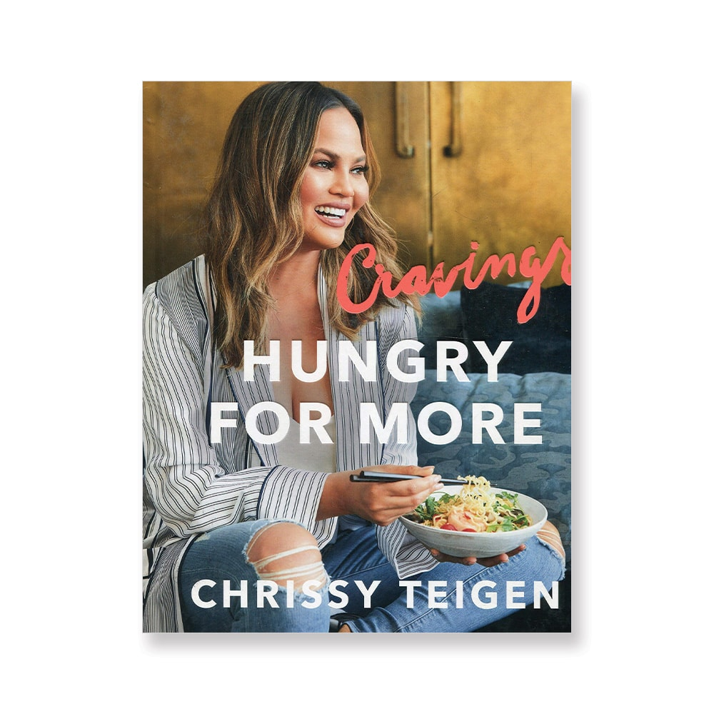Vie Magazine, Top Cookbooks, Cravings: Hungry for More, Chrissy Teigen, Amazon, Cookbook