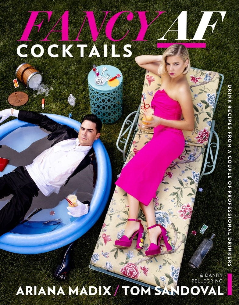 Vie Magazine, Top Cookbooks, Fancy AF Cocktails, Ariana Madix, Tom Sandoval, Houghton Mifflin Harcourt