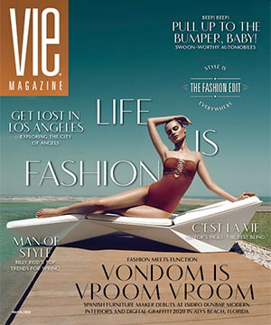 VIE Magazine March 2020 The Fashion Edit, VONDOM, Alys Beach Fl, Digital Graffiti, Tres Chic, isidro dunbar Modern Interiors, Digital Graffiti Festival
