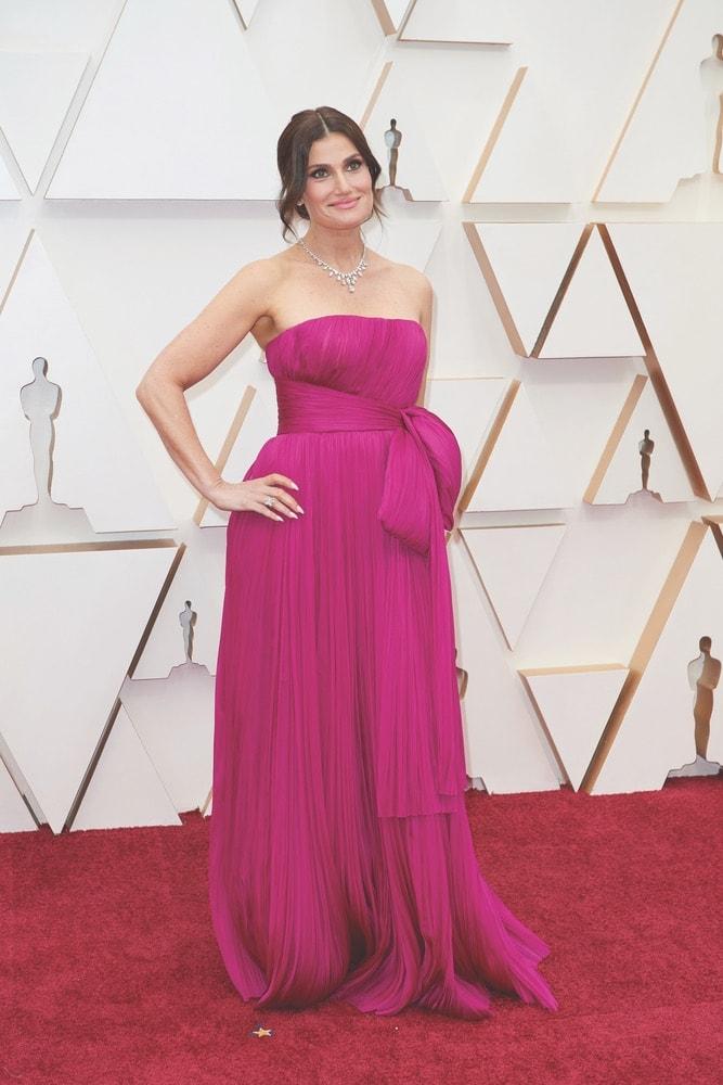Idina Menzel, La Scene, Academy Awards, 92nd Academy Awards, The Oscars, 92nd Oscars, Dolby Theatre, red carpet