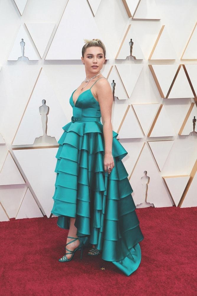 Florence Pugh, La Scene, Academy Awards, 92nd Academy Awards, The Oscars, 92nd Oscars, Dolby Theatre, red carpet