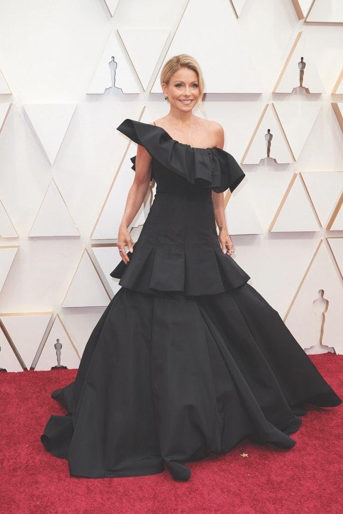 Kelly Ripa, Christian Siriano, La Scene, Academy Awards, 92nd Academy Awards, The Oscars, 92nd Oscars, Dolby Theatre, red carpet