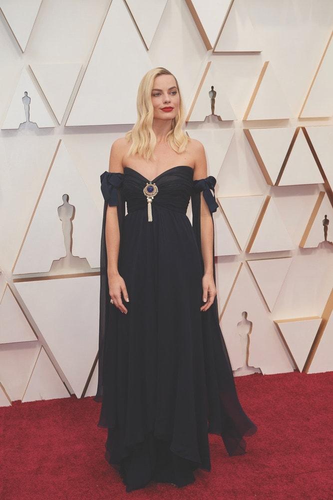 Margot Robbie, Chanel, La Scene, Academy Awards, 92nd Academy Awards, The Oscars, 92nd Oscars, Dolby Theatre, red carpet