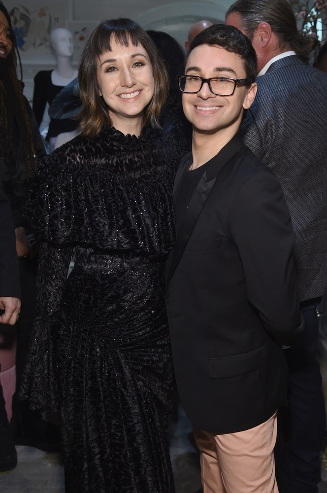Christian Siriano, The Curated NYC, New York, New York City, Fashion, celebrities, VIE Magazine, Alicia Silverstone, Getty Images, Shannon Siriano
