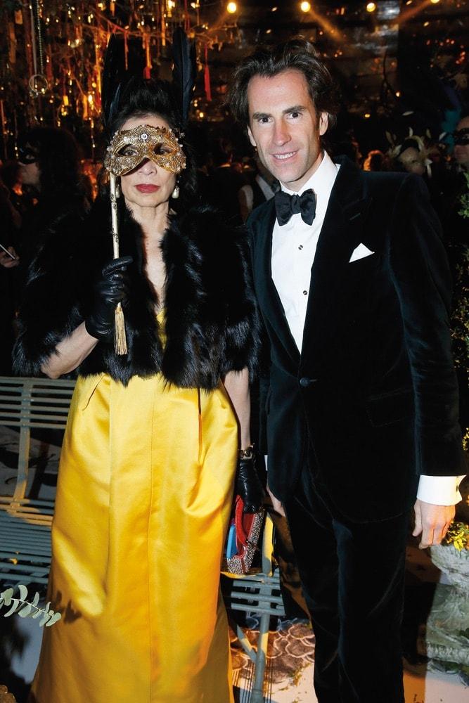 Bianca Jagger, Pierre Pelegry, Grand Bal Christian Dior, Christian Dior, Dior