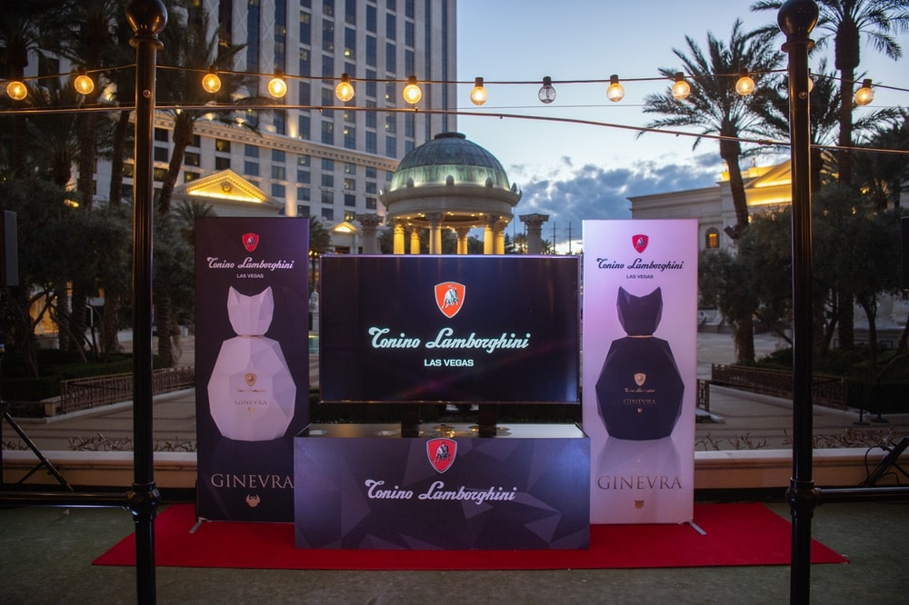 Caesar's Palace, Caesar's Palace Las Vegas, Desire Fragrances, Ferruccio Lamborghini, Ginevra, Lamborghini, Las Vegas, Tonino Lamborghini Las Vegas