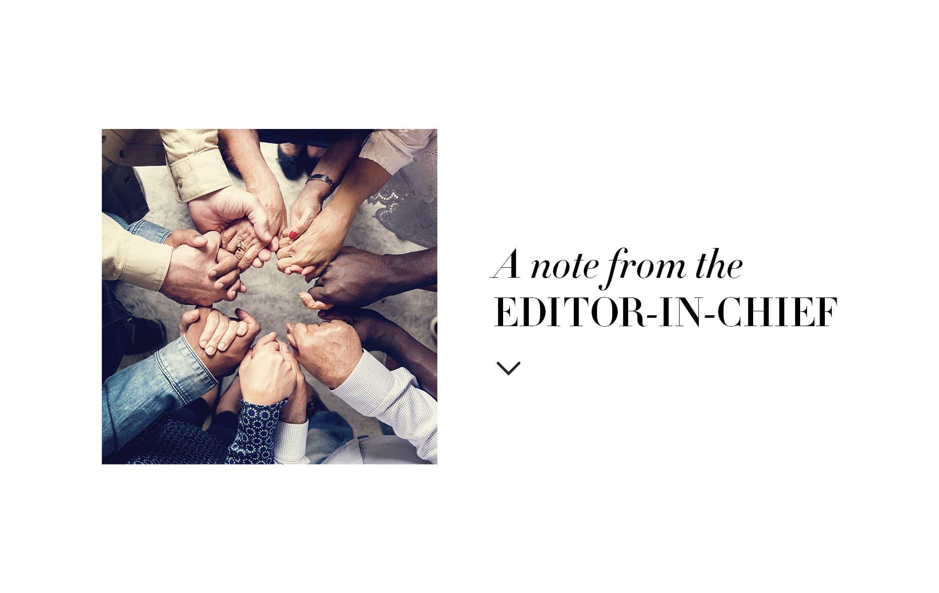 VIE Magazine, Lisa Burwell, Editor-in-Chief, Editor-in-Chief Note