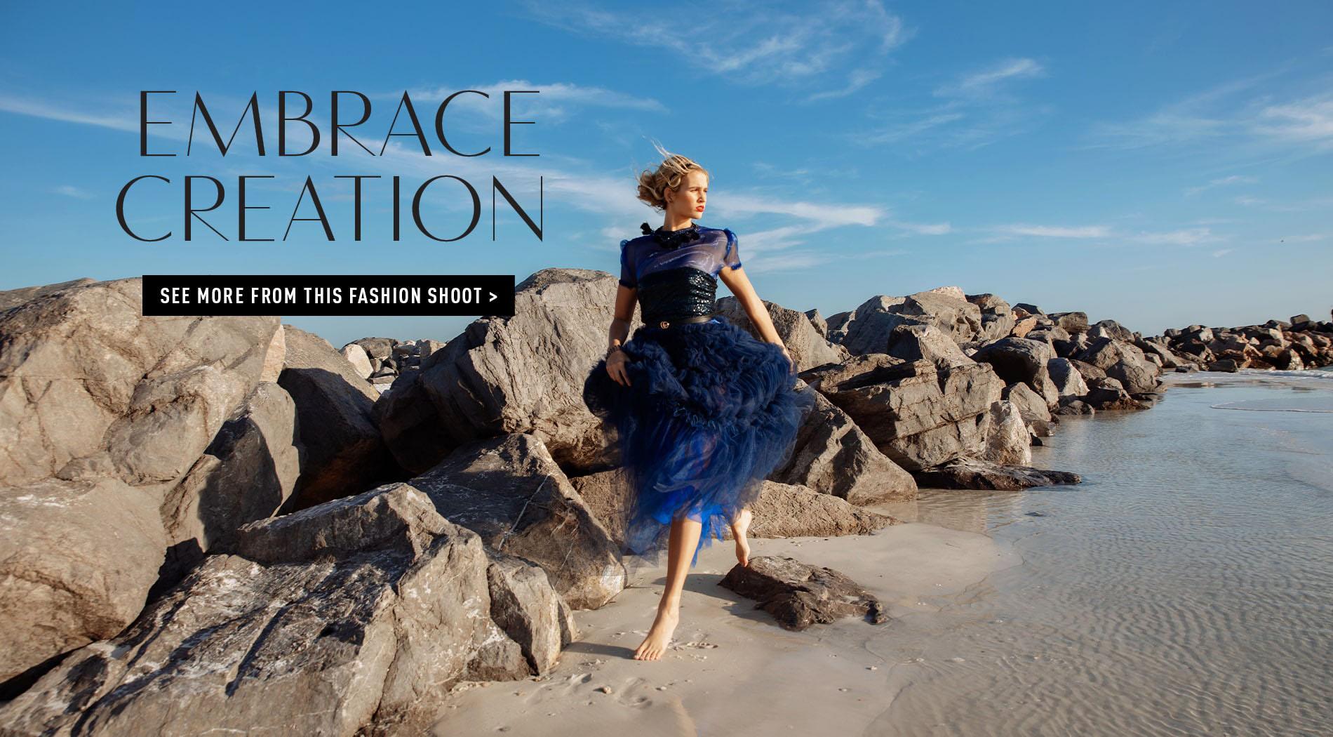 VIE Magazine, Lauren Athalia, Destani Hoffman, DH Designs, The Southern Atelier, Stacy Alderson, ONYX Model Management, Private Gallery