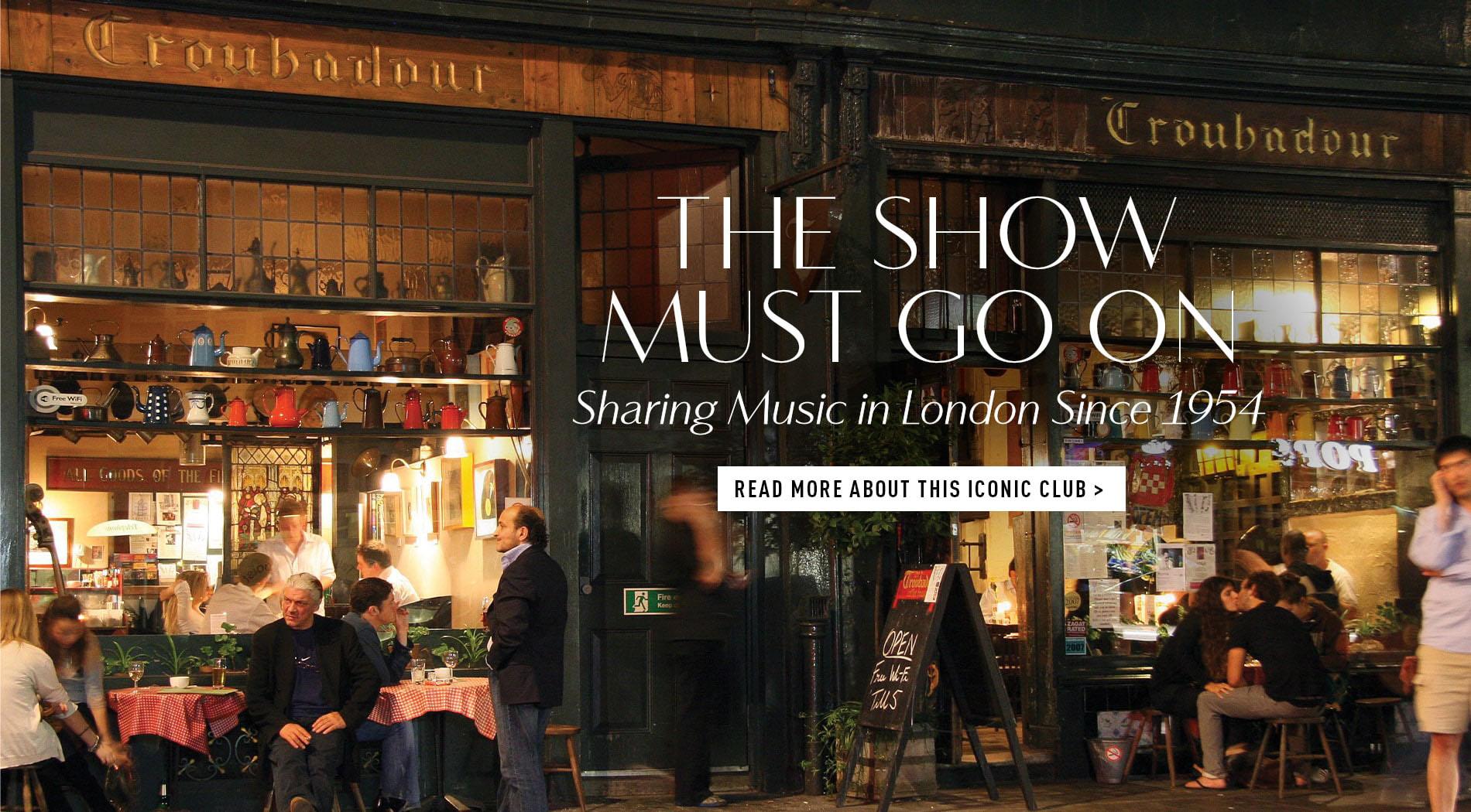 VIE Magazine, Troubadour London