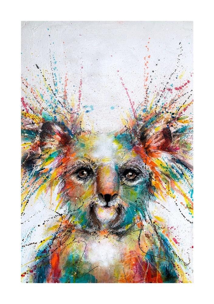 VIE Magazine, The Zoo Gallery, Zoo Gallery Charity Auction, Koala, Roxie Wilson, Australia Wildfires, WIRES, Zoo Gallery Auction Supports Australian Wildlife