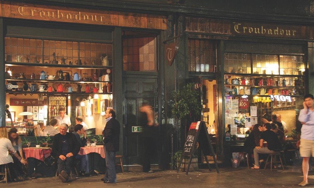 The Troubadour café, The Troubadour London