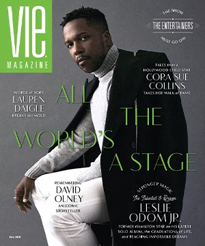 VIE Magazine May 2020 Entertainment Issue, Leslie Odom Jr