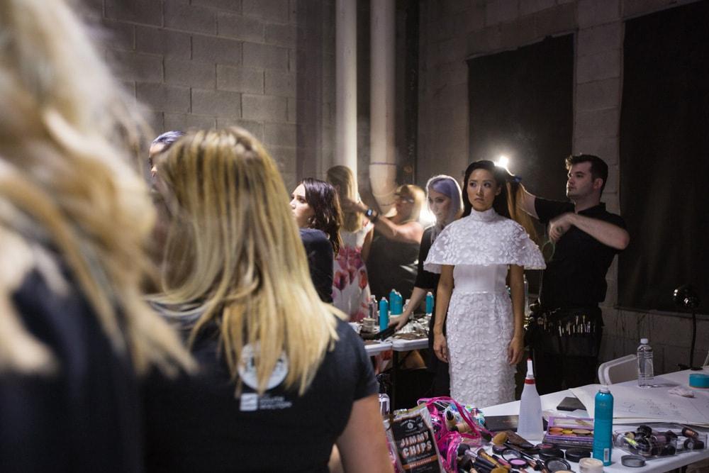 Backstage at South Walton Fashion Week 2016