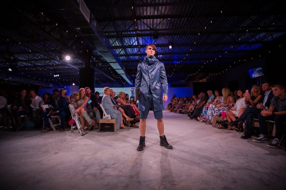 Jordan Canamar modeling at South Walton Fashion Week 2016
