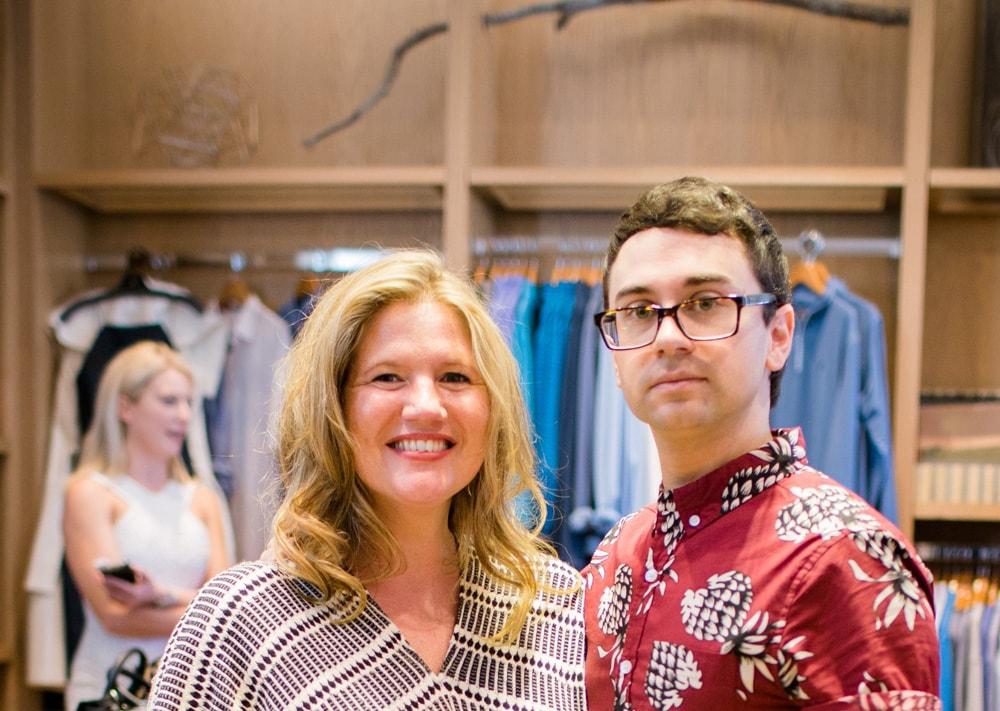 Jennifer Steele and Christian Siriano, South Walton Fashion Week 2016