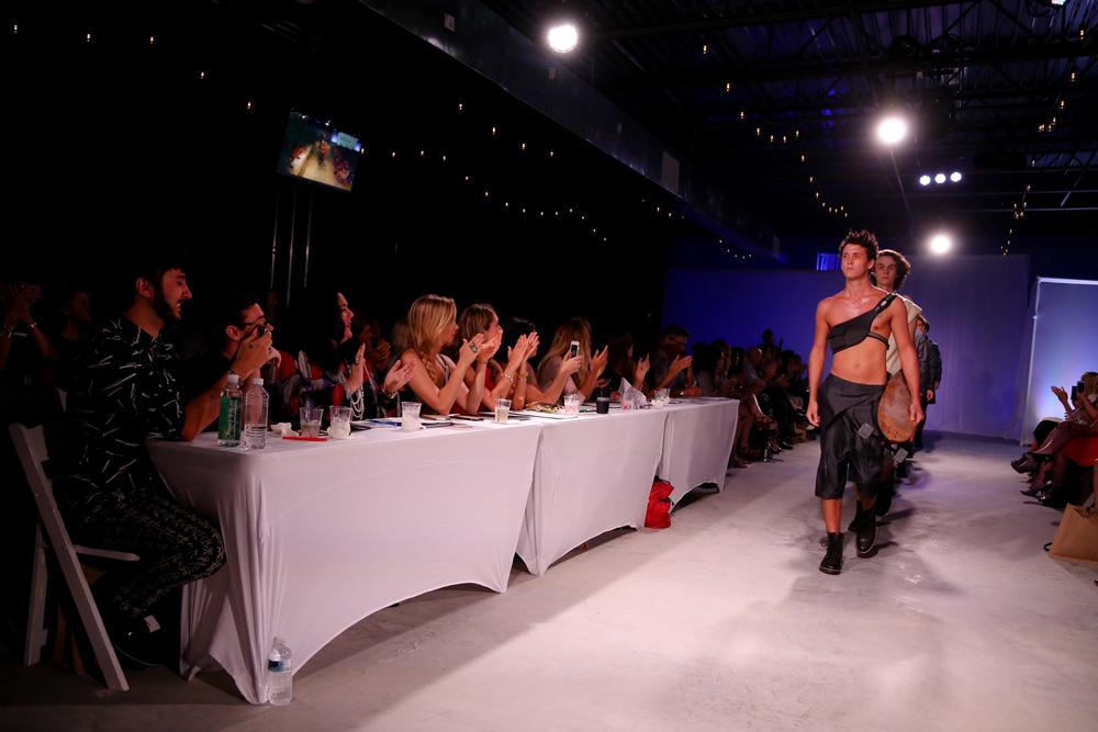 Judges at the runway show of South Walton Fashion Week 2016