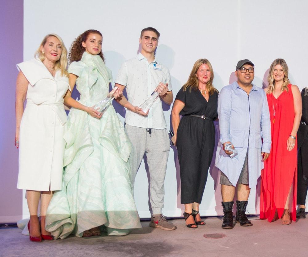 Winners with Sponsors, South Walton Fashion Week 2016