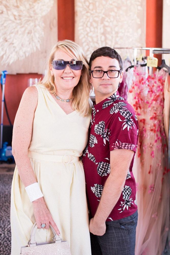 Lisa Burwell and Christian Siriano, Alys Beach, South Walton Fashion Week 2016