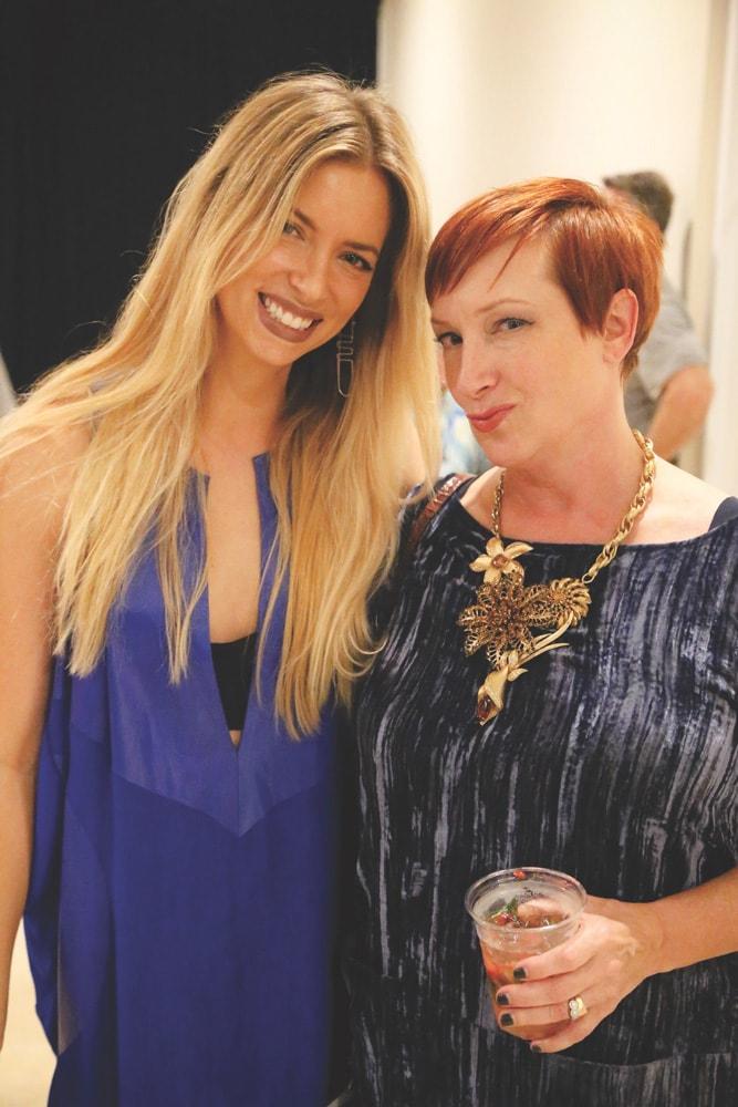 Amanda Valentine and Stacey Brady, South Walton Fashion Week 2016