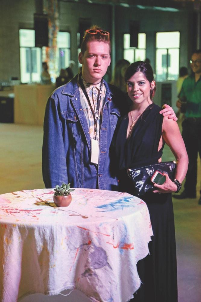 Tieler James and Mara Clark, South Walton Fashion Week 2016