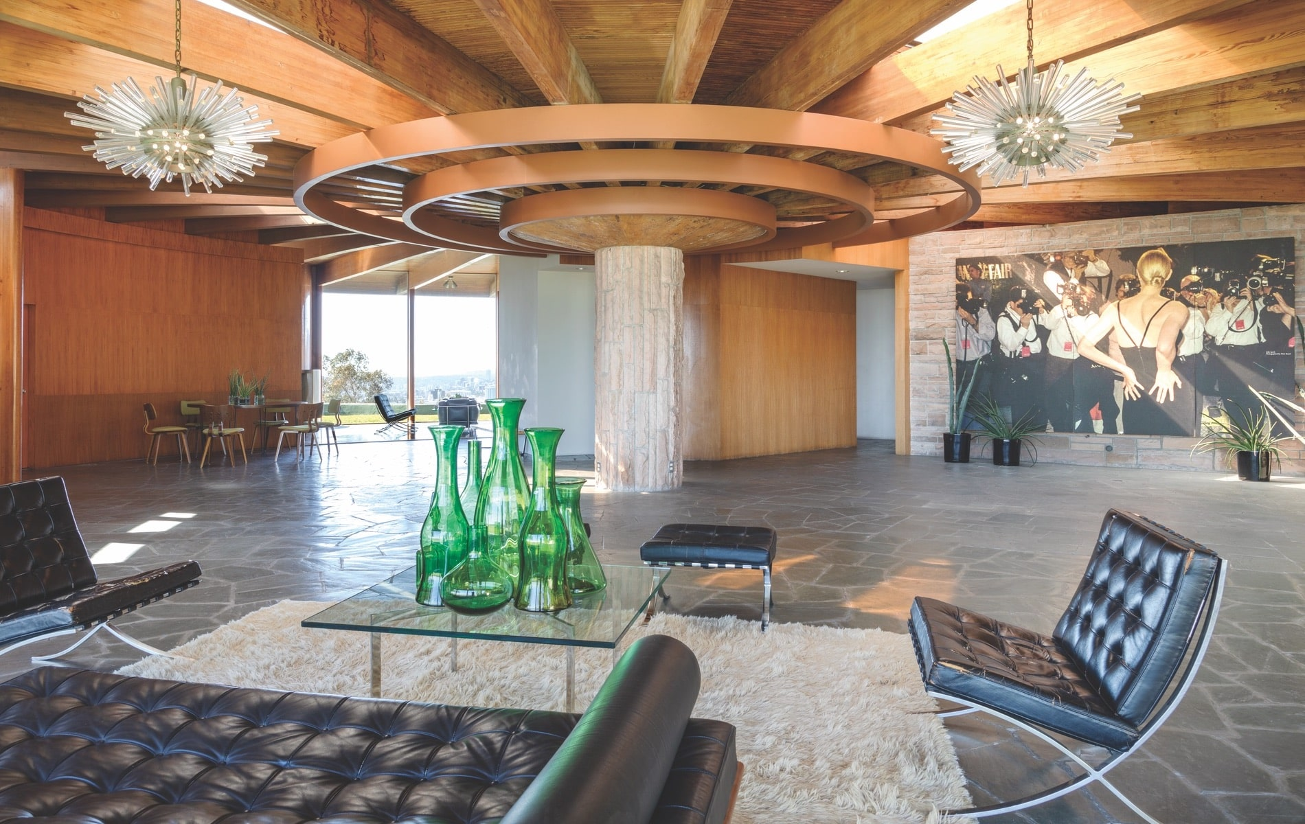 John Lautner, Hollywood Hills, Kelly Lynch, Mitch Glazer, Sara Essex Bradley