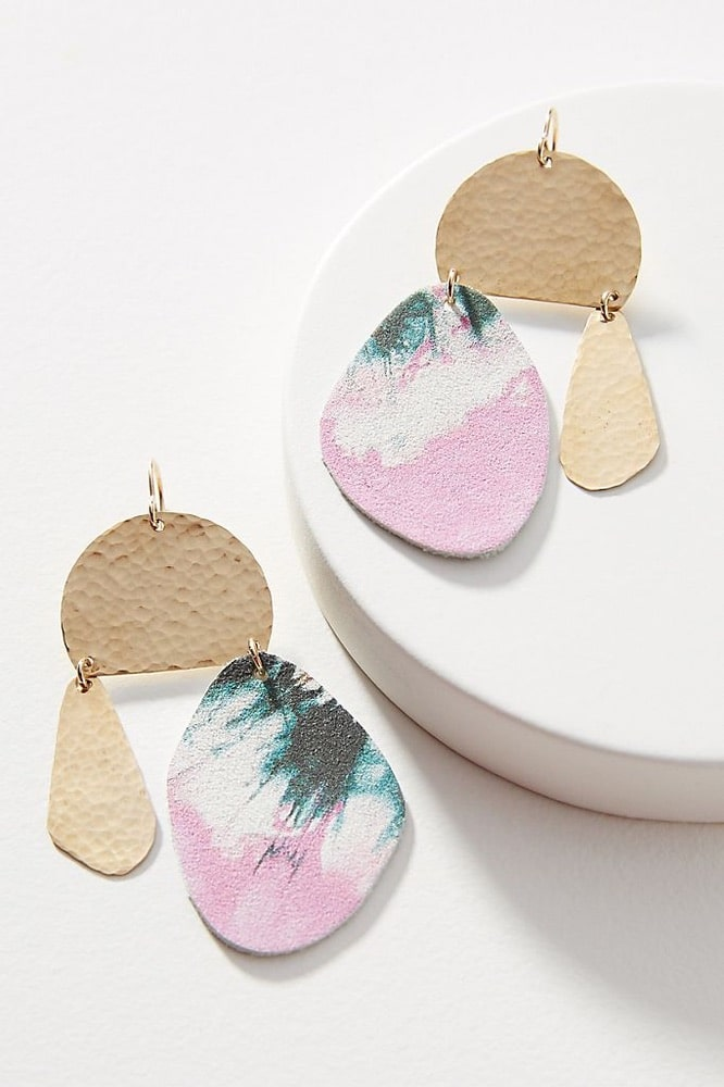 Mother's Day, Mother's Day Gift Ideas, Cuero #12 Drop Earrings, Anthropologie