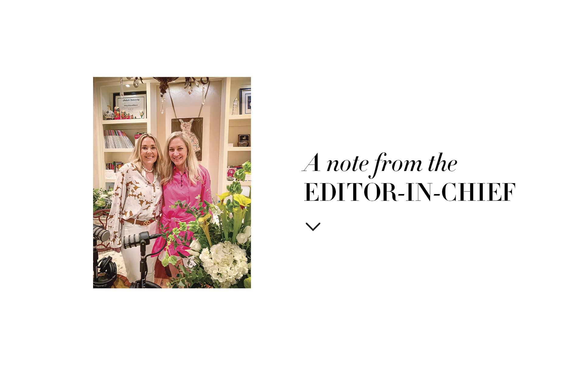 VIE Magazine, Lisa Burwell, Editor in Chief Note, Laurie Hood, Alaqua, Alaqua Animal Refuge