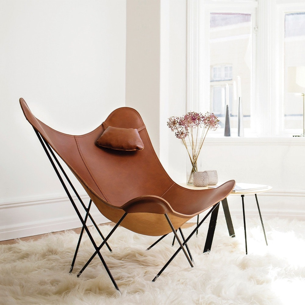 VIE Magazine, C'est la VIE Curated Collection, Cuero Butterfly Chair, Chaplins