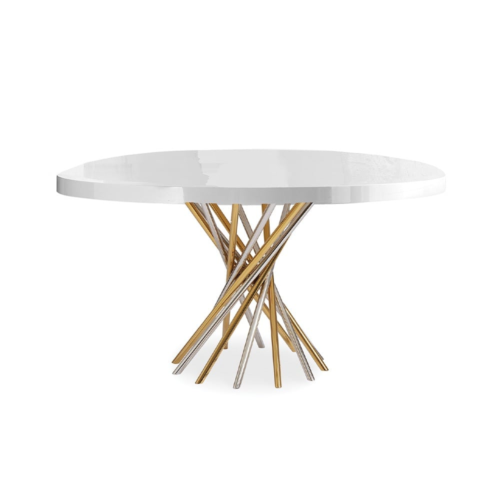 VIE Magazine, C'est la VIE Curated Collection, Jonathan Adler Electrum Dining Table