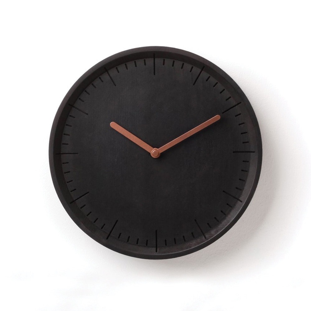 VIE Magazine, C'est la VIE Curated Collection, Animi Causa Meter Wood Wall Clock
