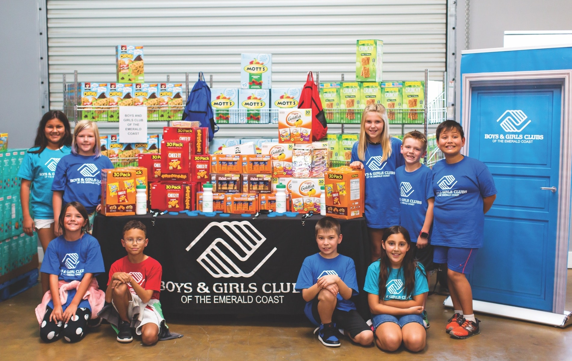 Boys & Girls Clubs, Boys & Girls Club, Boys & Girls Clubs of the Emerald Coast, Northwest Florida, COVID-19, Coronavirus, Food For Thought, Food for Thought Outreach
